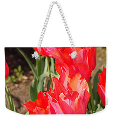Pwraying Tulips Weekender Tote Bag
