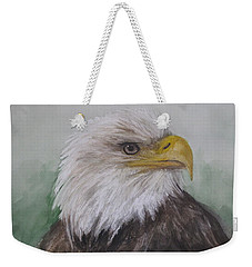 Pyrague Eagle Weekender Tote Bag by Annie Poitras