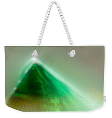 Weekender Tote Bag featuring the photograph Pyramid by Greg Collins