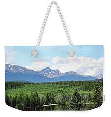 Pyramid Island - Jasper Ab. Weekender Tote Bag by Ryan Crouse
