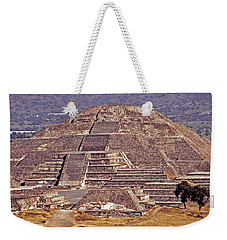 Pyramid Of The Sun - Teotihuacan Weekender Tote Bag