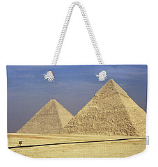 Pyramids At Giza Weekender Tote Bag