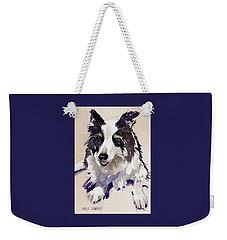 Weekender Tote Bag featuring the painting Jack by Kris Parins