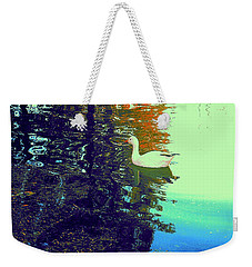 Quack Weekender Tote Bag by Nancy Kane Chapman