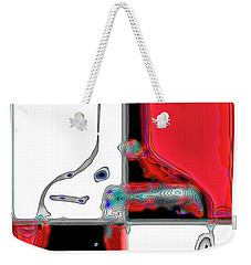 Weekender Tote Bag featuring the photograph Quad Bottle by Walt Foegelle