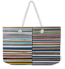 Quad Stripes Weekender Tote Bag