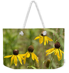 Weekender Tote Bag featuring the photograph Quads by Maria Urso