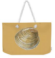 Quahog Shell Weekender Tote Bag