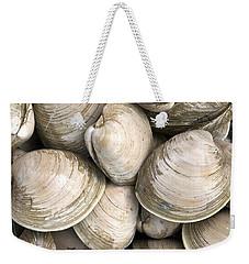 Barnstable Harbor Quahogs Weekender Tote Bag