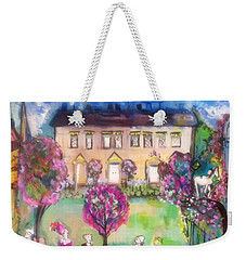 Quaint Picnic On The Lawn  Weekender Tote Bag