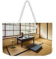 Quaint Tatami Office Weekender Tote Bag