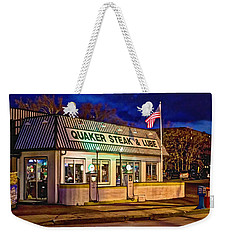 Quaker Steak And Lube Weekender Tote Bag
