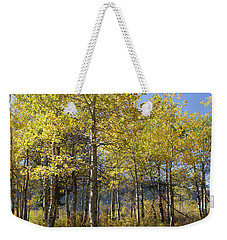 Quaking Aspens Weekender Tote Bag by Cynthia Powell
