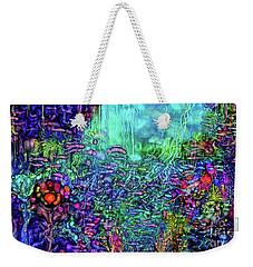Weekender Tote Bag featuring the digital art Qualia's Reef by Russell Kightley