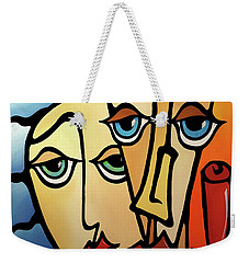 Quality Time Weekender Tote Bag by Tom Fedro - Fidostudio