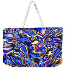 Quantum Entangled Soul... Weekender Tote Bag