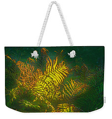 Quantum Fern.... Weekender Tote Bag