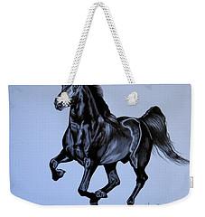 The Black Quarter Horse In Bic Pen Weekender Tote Bag