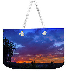 Quartz Canyon Sunset Weekender Tote Bag