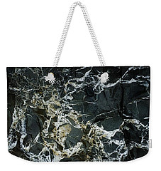 Quartz Veins Abstract 1 Weekender Tote Bag by Richard Brookes
