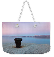 Quay In Dawn Weekender Tote Bag