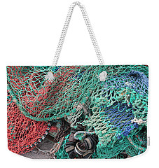Weekender Tote Bag featuring the photograph Quayside Beauty by Rosemary Colyer