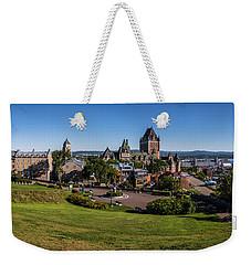 Quebec City Panorama Weekender Tote Bag