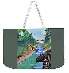 Quechee Gorge,vermont Weekender Tote Bag