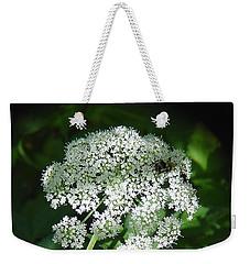 Queen Ann Lace Weekender Tote Bag
