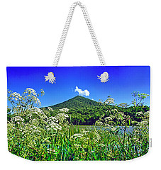 Queen Anne's Lace, Peaks Of Otter  Weekender Tote Bag