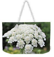 Queen Ann's Lace Weekender Tote Bag