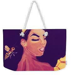 Queen Bee  Weekender Tote Bag by Miriam Moran