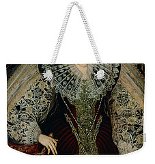 Queen Elizabeth I Weekender Tote Bag by John the Younger Bettes