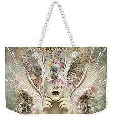Queen Flora Weekender Tote Bag