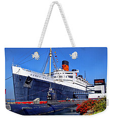 Queen Mary Ship Weekender Tote Bag