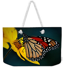 Queen Monarch 2 Weekender Tote Bag