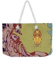 Queen Scarab Weekender Tote Bag