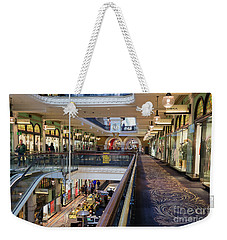 Weekender Tote Bag featuring the photograph Queen Victoria Building, Sydney, Australia by Elaine Teague