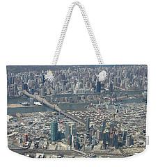 Queens And Manhattan Weekender Tote Bag