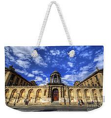 Queens College - Oxford Weekender Tote Bag