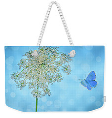 Queens Lace Weekender Tote Bag