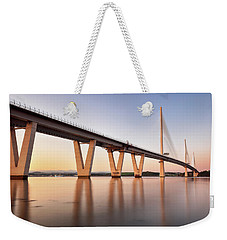Queensferry Crossing Weekender Tote Bag