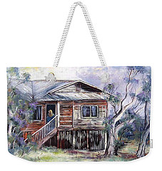 Queenslander Style House, Cloncurry. Weekender Tote Bag