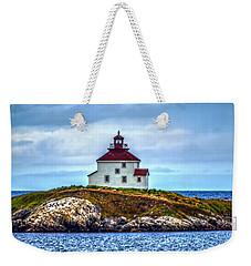 Queensport Lighthouse Weekender Tote Bag by Ken Morris