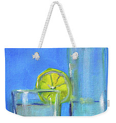 Weekender Tote Bag featuring the painting Quench by Nancy Merkle