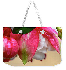 Weekender Tote Bag featuring the photograph Quenched by Corinne Rhode