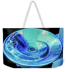 Weekender Tote Bag featuring the photograph Quenched by Paul Wear