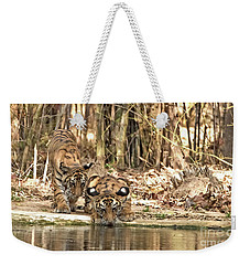 Quenching Thirst Weekender Tote Bag by Pravine Chester