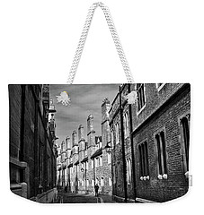 Quiet Alley Cambridge Uk Weekender Tote Bag
