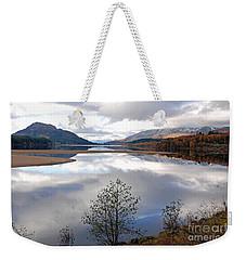 Quiet Autumn Day - Loch Laggan Weekender Tote Bag